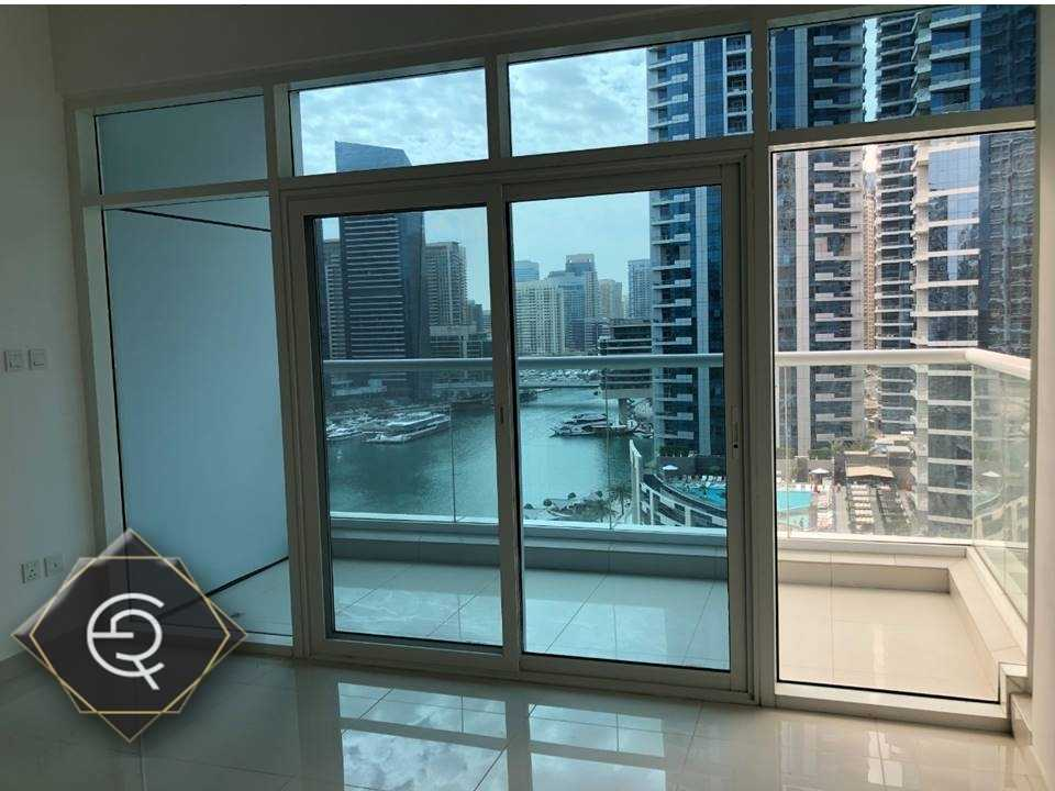 Full Marina View  | 2 BHK | Semi Furnished|3 balconies