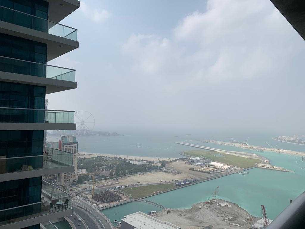 Sea View | Higher Floor | 1BR | Princes Tower@ 54,999 K Only