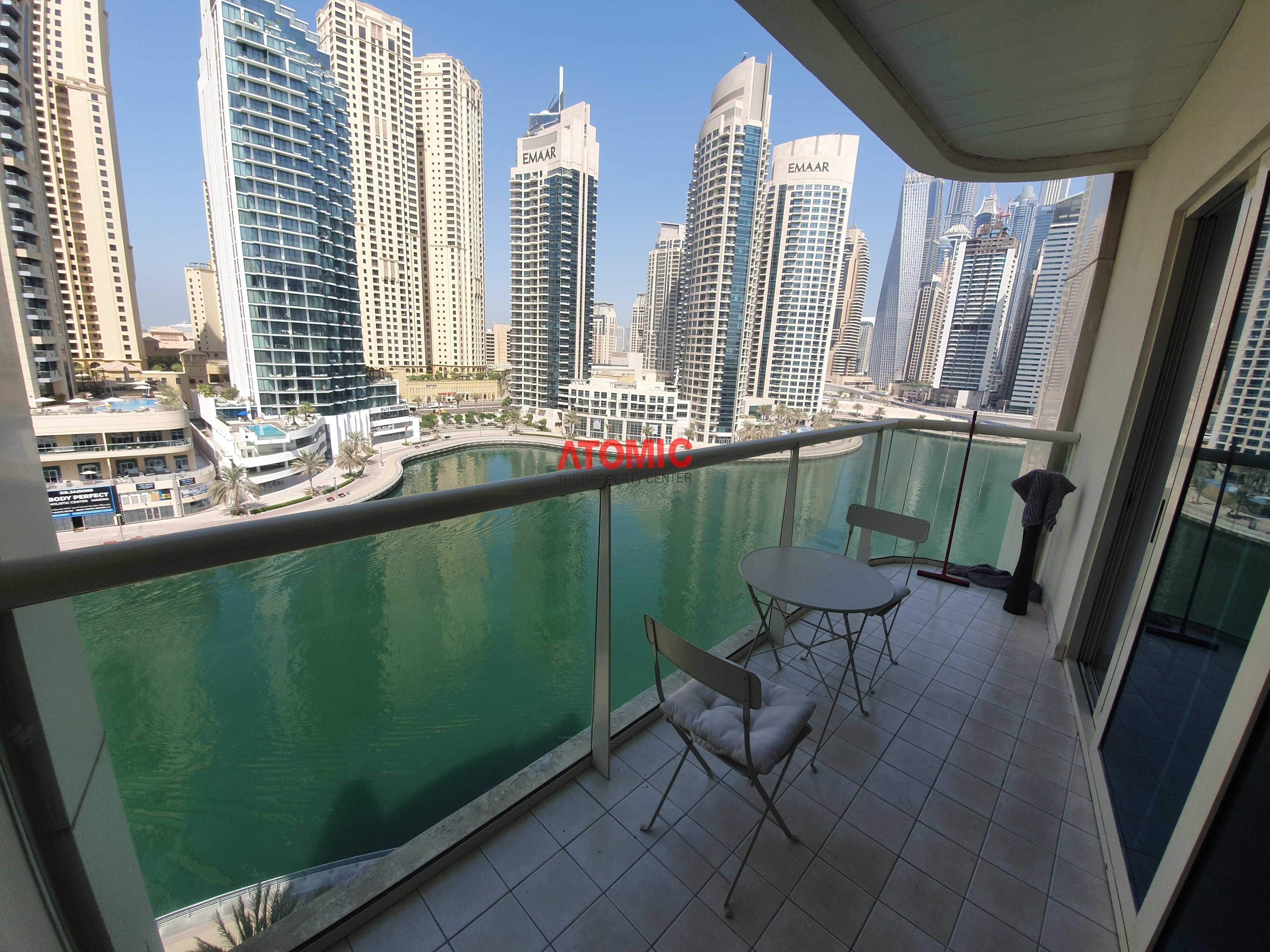 Full Marina View | Furnished | Next to Metro