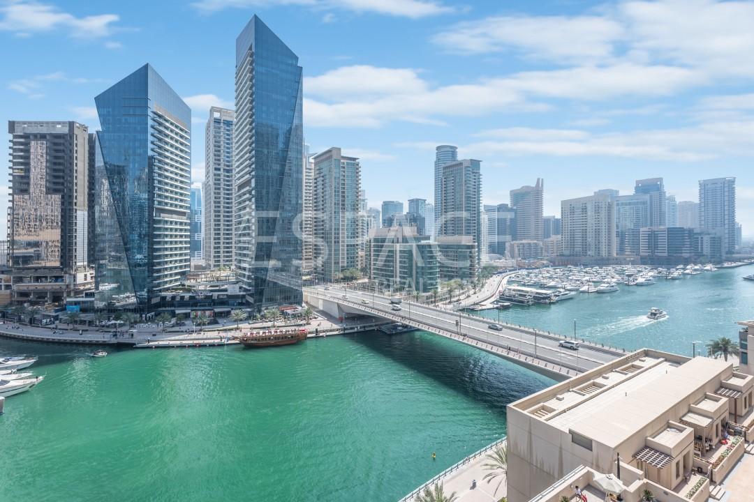 Unique Duplex Penthouse with Marina View