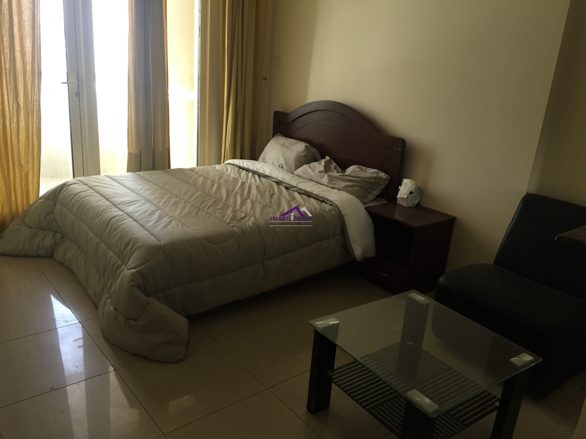Furnished Studio for rent in Dubai Marina, Manchester Tower for AED 42K/yr