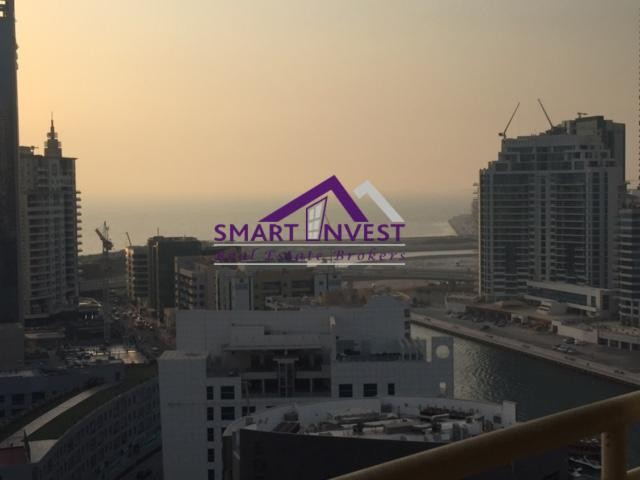 Fully furnished, Sea view 1BR Apartment for rent in Dubai Marina for 60K/yr