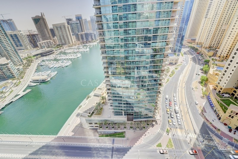 Large 1BR Full Marina View  with High ROI