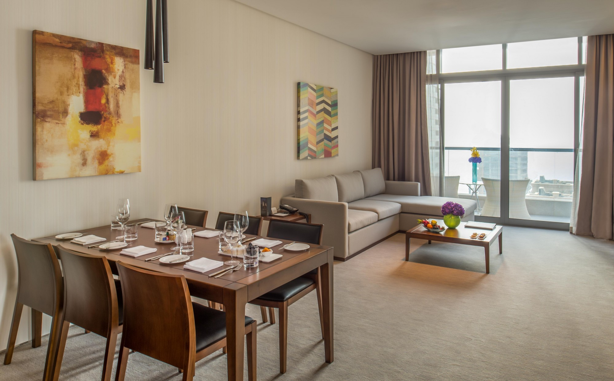 Two-Bedroom with JBR/Marina View