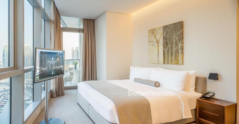 Furnished & Serviced Hotel Apartment in Dubai Marina