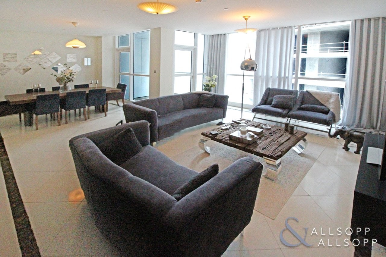 Rented for AED 112,000 | Low Floor Unit