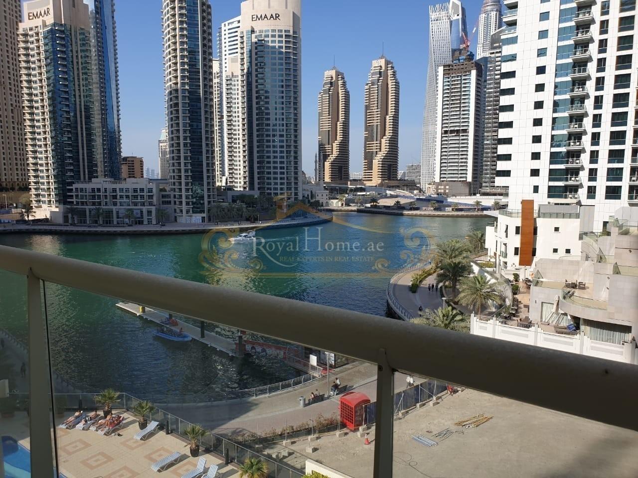 Furnished   Studio   Stunning Marina View