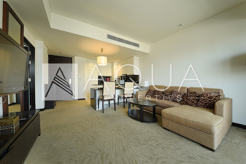 Fully Furnished | 1 Bed with Marina View