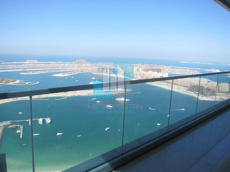 Full sea and Palm view High Floor 2 Bedroom