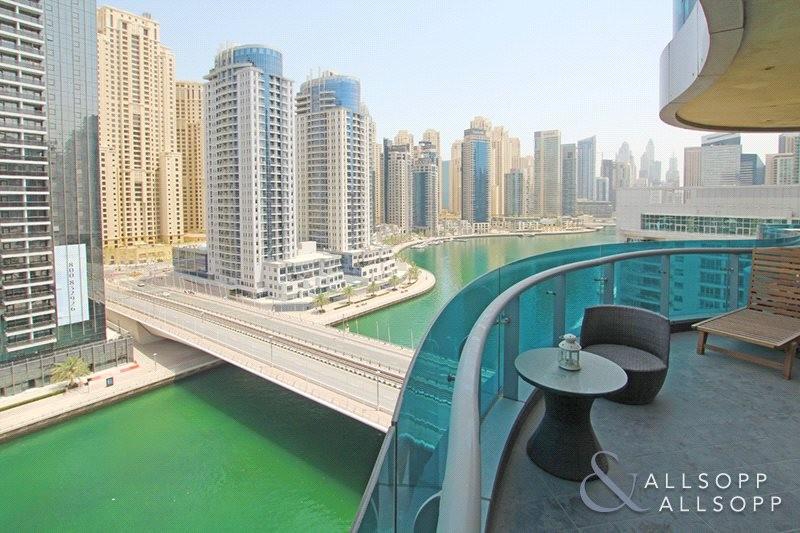 Full Marina View | 2 Bed | Fully Furnished