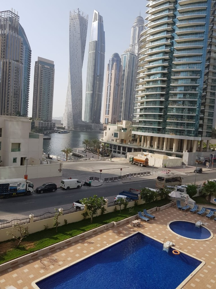 Marina Facing Furnished 1 Bed room In Marina Diamond 5