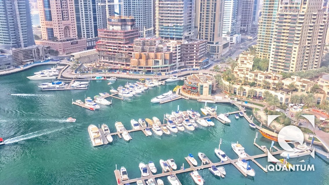 Full Marina View with Huge Terrace