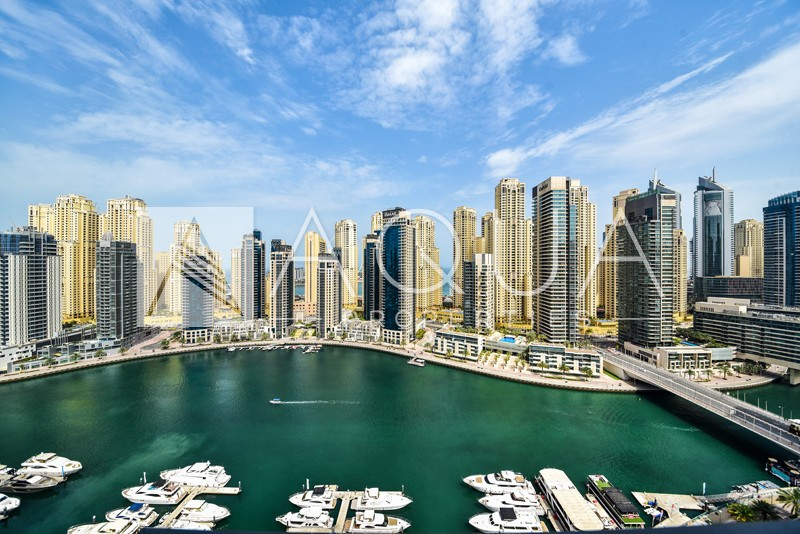 Striking Marina Views | Huge Upgraded Unit