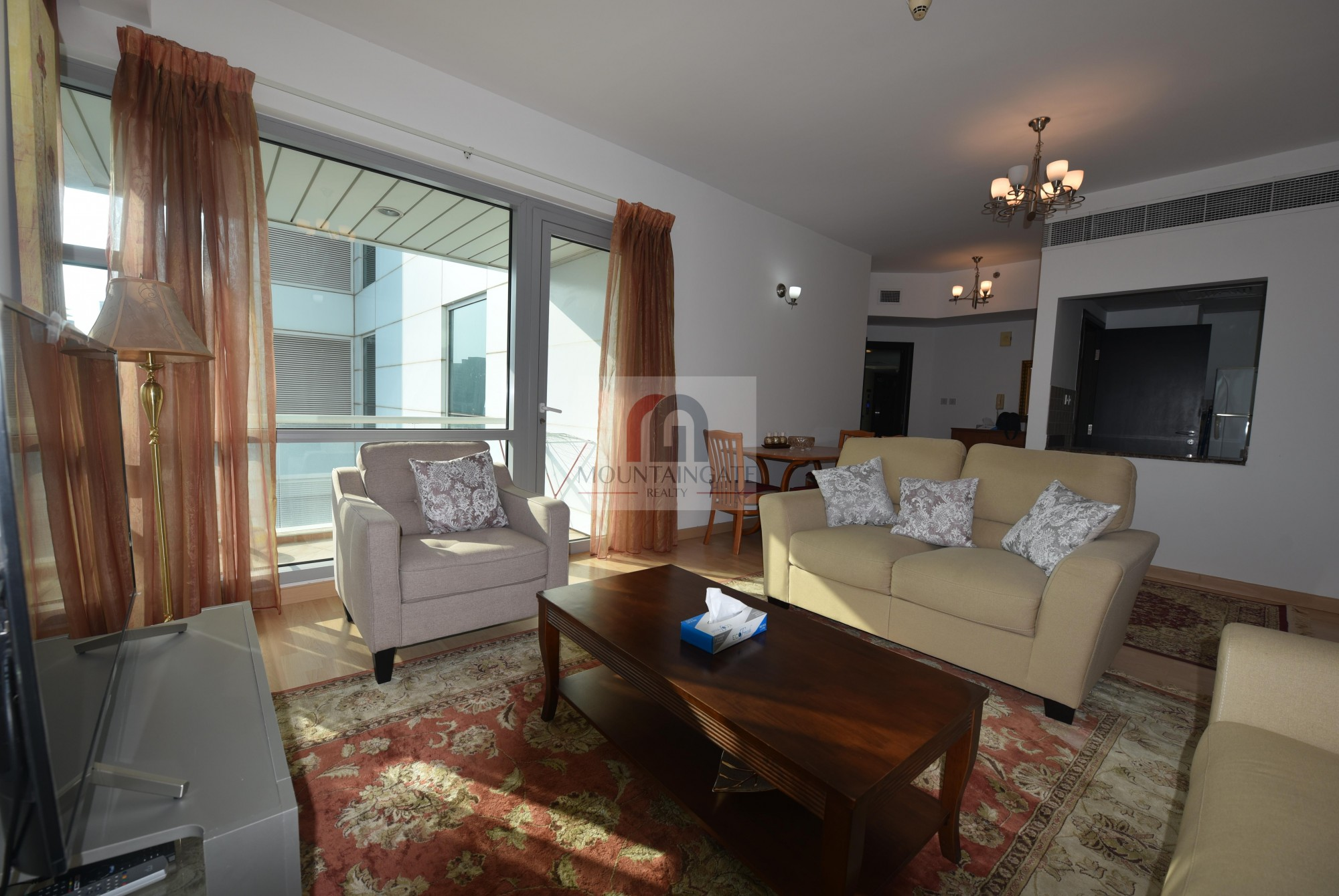 Specious, fully furnished, next to metro