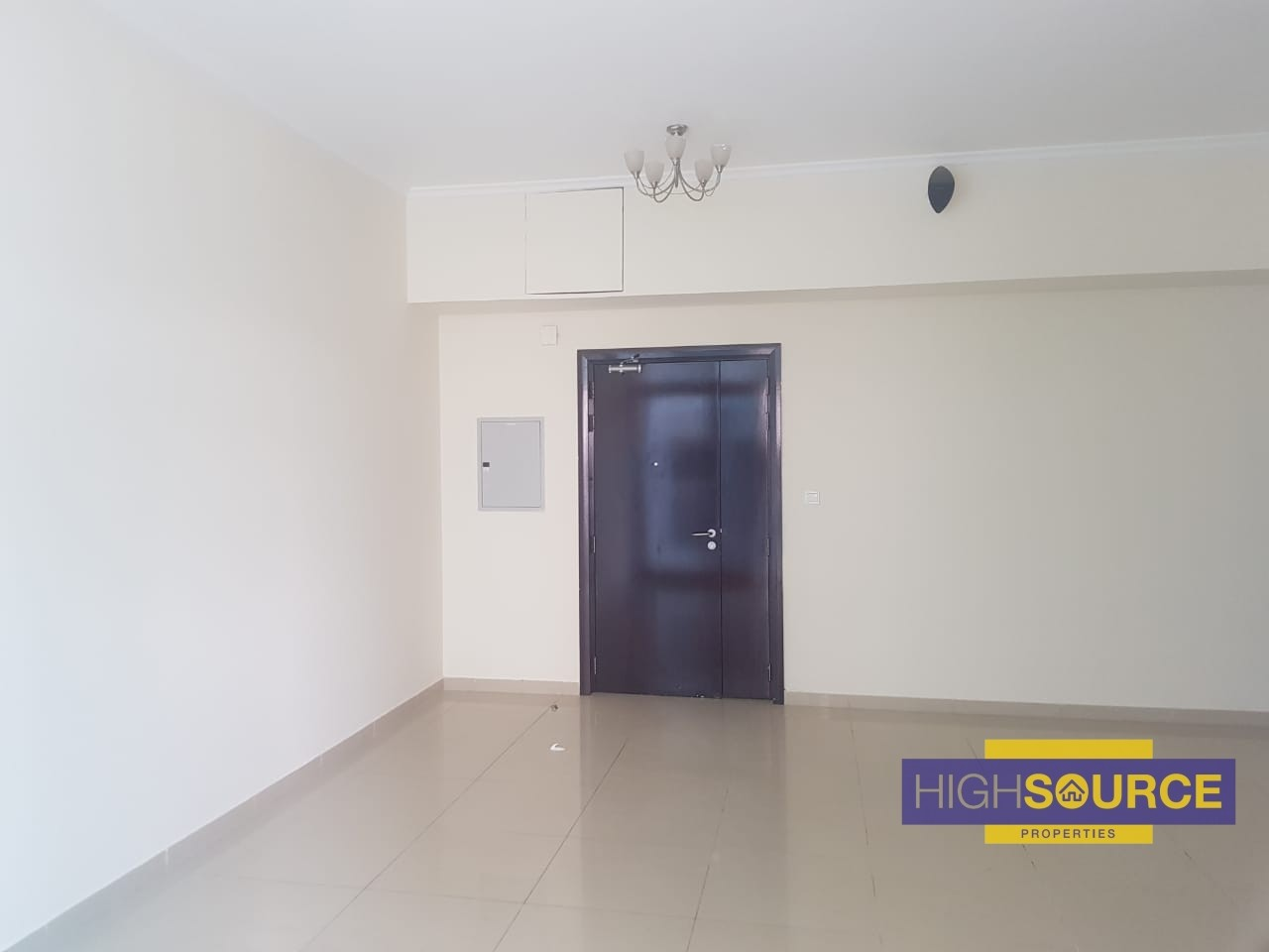 Unfurnished 1 Bed 2 Baths for Rent in DEC Tower 1.