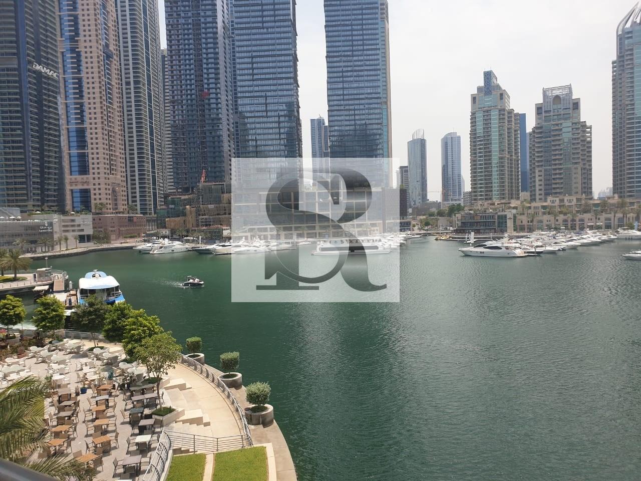 Stunning 3BR+Maid|Marina View|Dubai Marina|200k