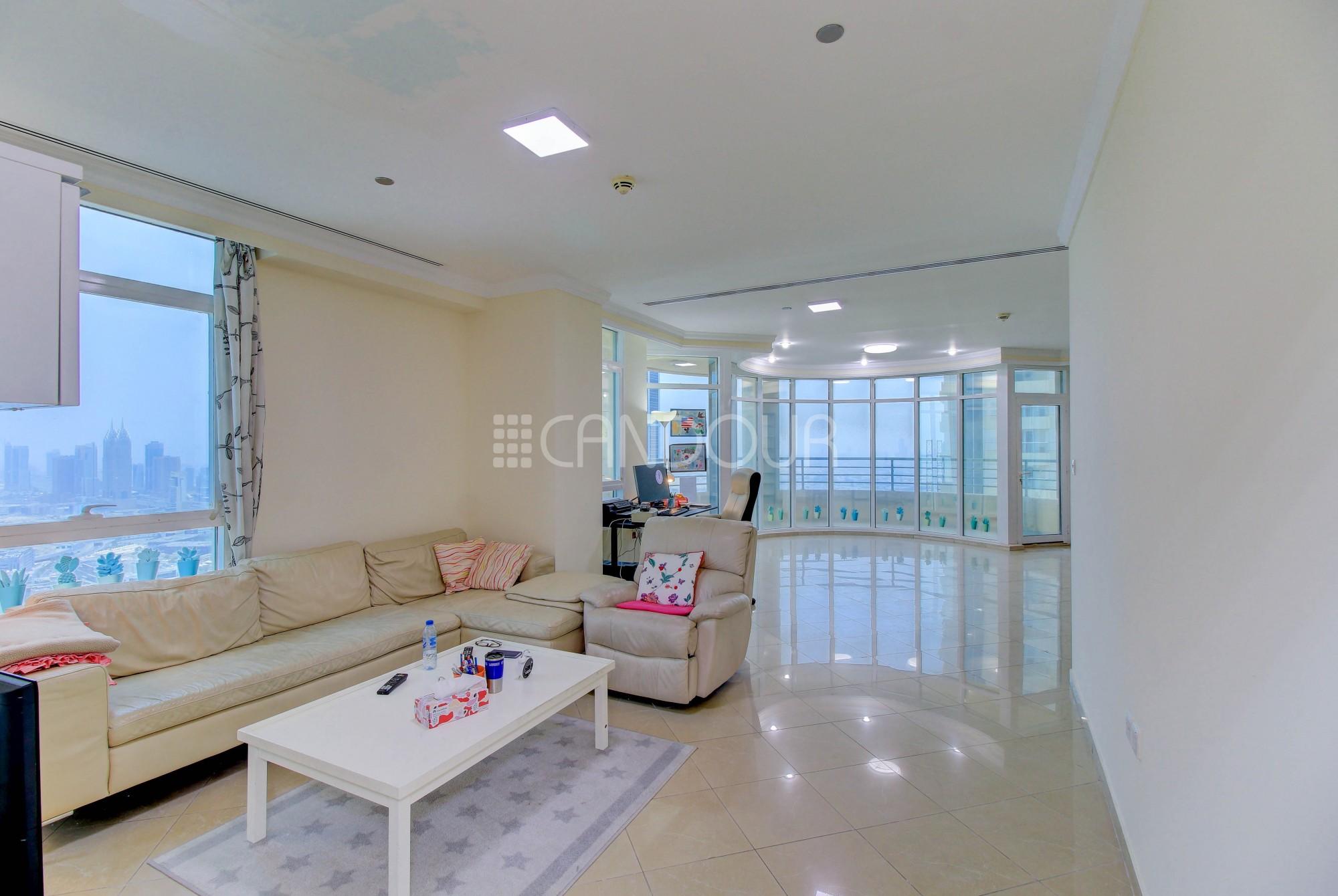 Prime Location | High Floor | Spacious 4 Bedrooms