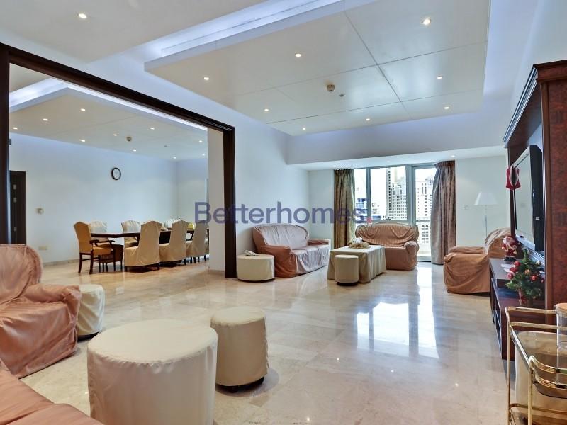 High Floor | Maids | Rented| Marina View