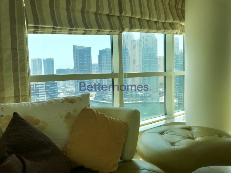 Furnished | Full Marina View | 2Bed + Study