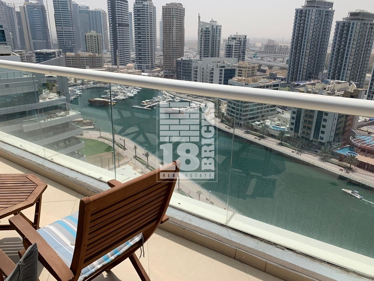 Full Marina View | Furnished | Extra Room
