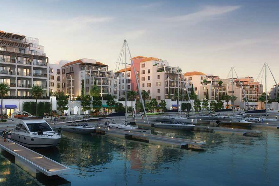 Port De La Mer | Large 4BR | Marina View