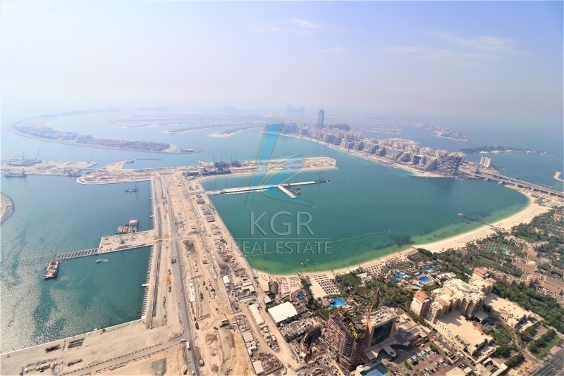 Amazing View of Marina, 5 beds plus Maids in Princess Tower