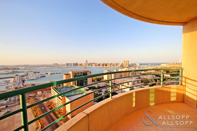 Two Bedrooms | Full Sea View | Furnished