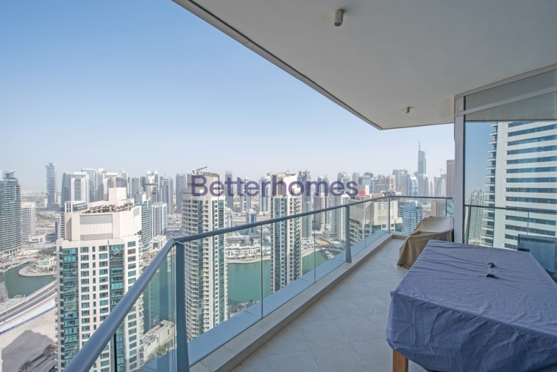 Marina View I High Floor I Upgraded | Unfurnished