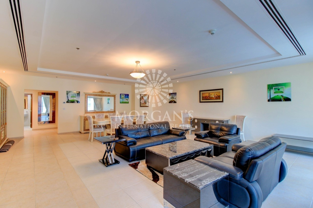 Astonishing Sea View | Furnished 4BR Penthouse