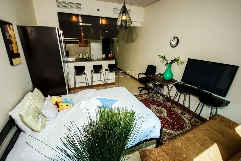 Bright & Spacious - Fully Furnished Studio