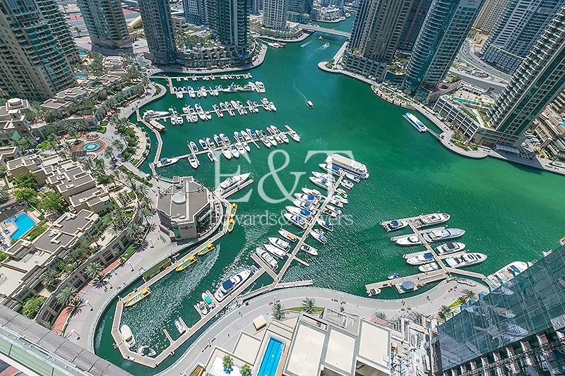 Premium Unit | Full Marina View | High Floor