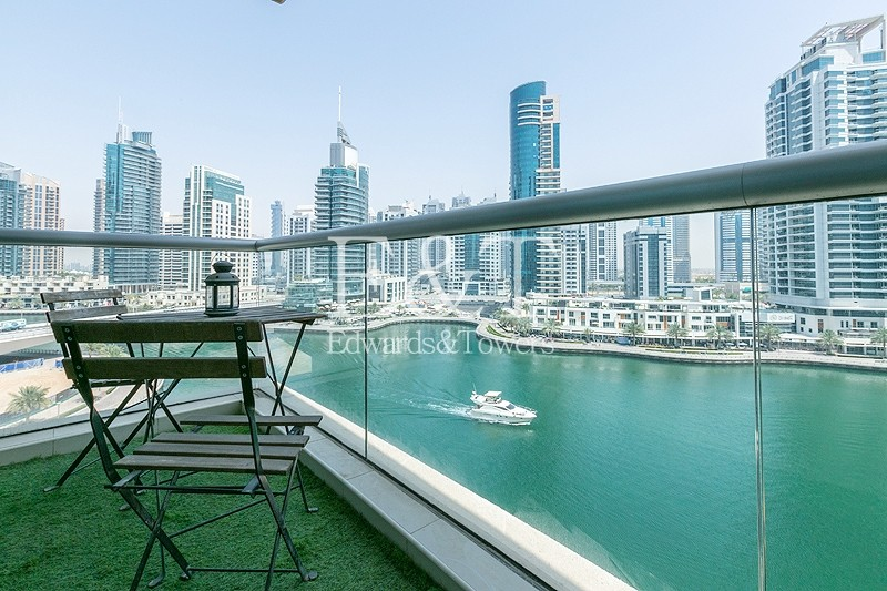 Furnished or Unfurnished with Full Marina View
