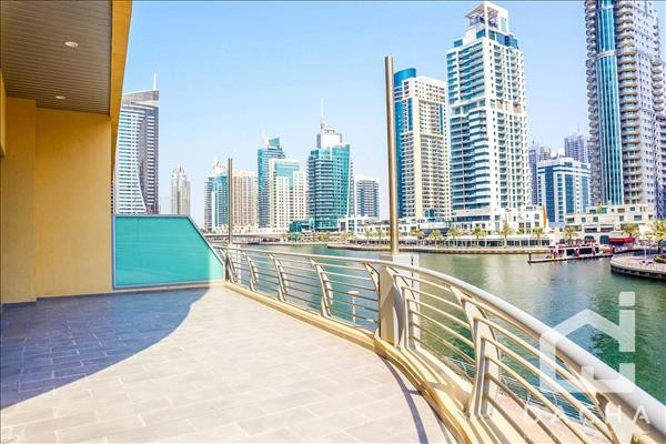 2 bedrooms  Private terrace  Full Marina View