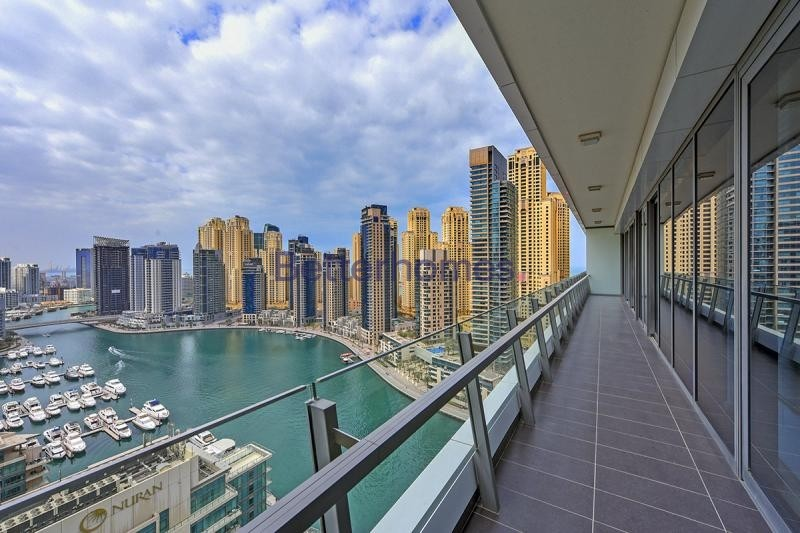 Marina View | Furnished | High Floor | Large Terrace