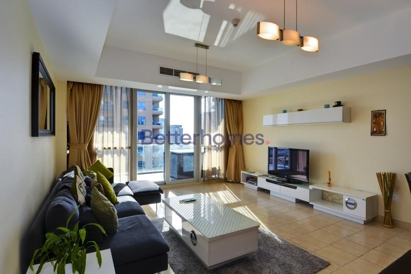 Furnished | 2 Bedroom | The Waves Tower.
