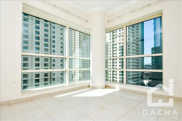 Duplex 2 Bed/ low floor/side view/chiller free