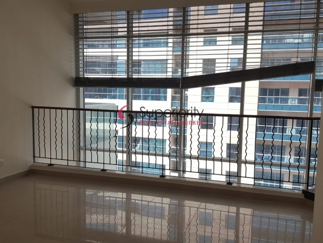 Spacious one Bedroom Duplex Apartment with study  available for sale in Westside good for investment and end users
