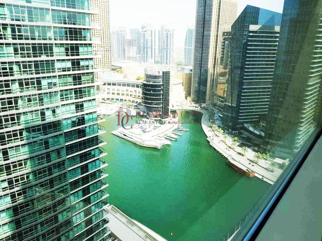Chiller free | High flooor | Marina view