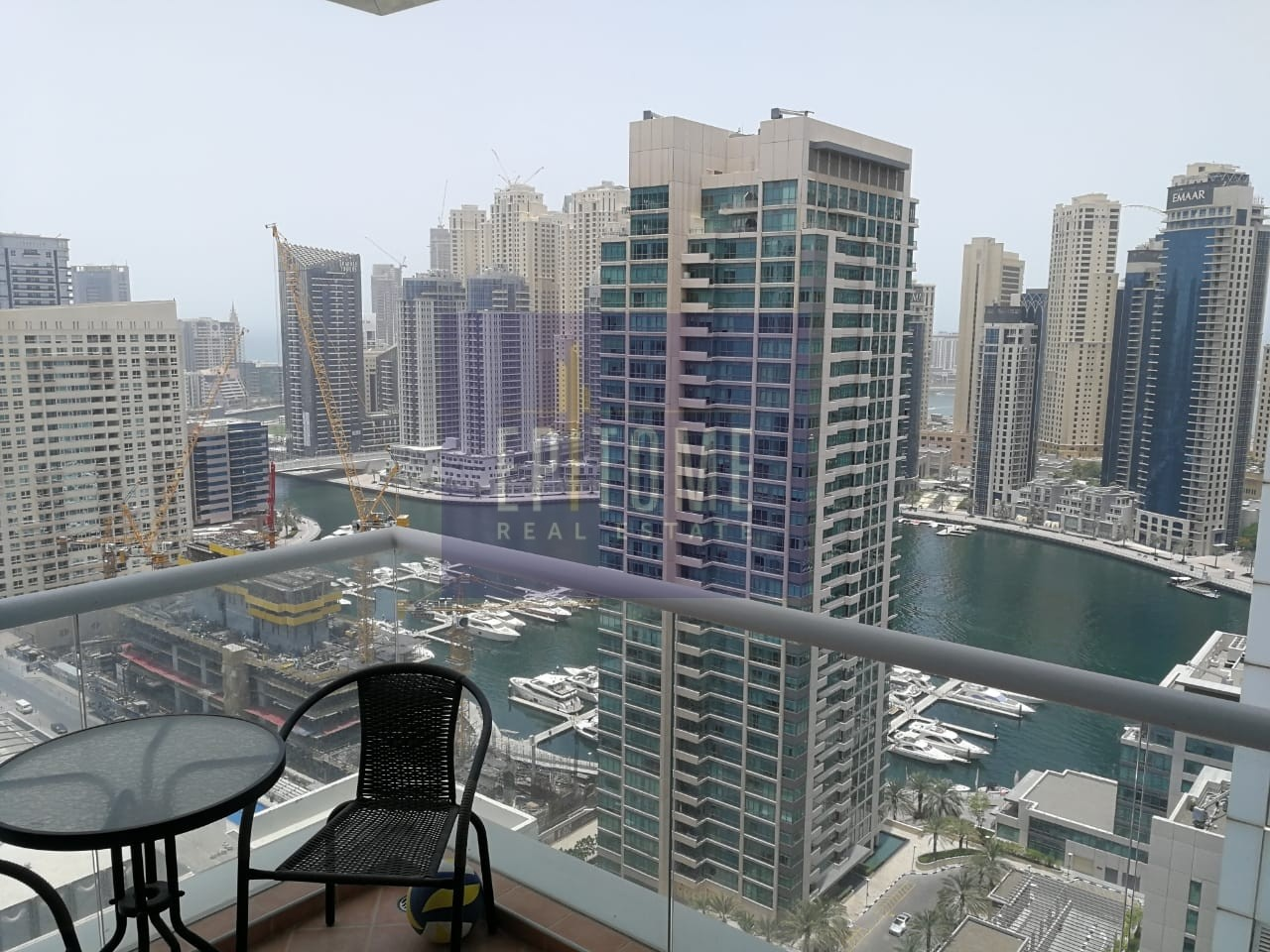 Furnished  2 BR l Partial Sea View l High Floor
