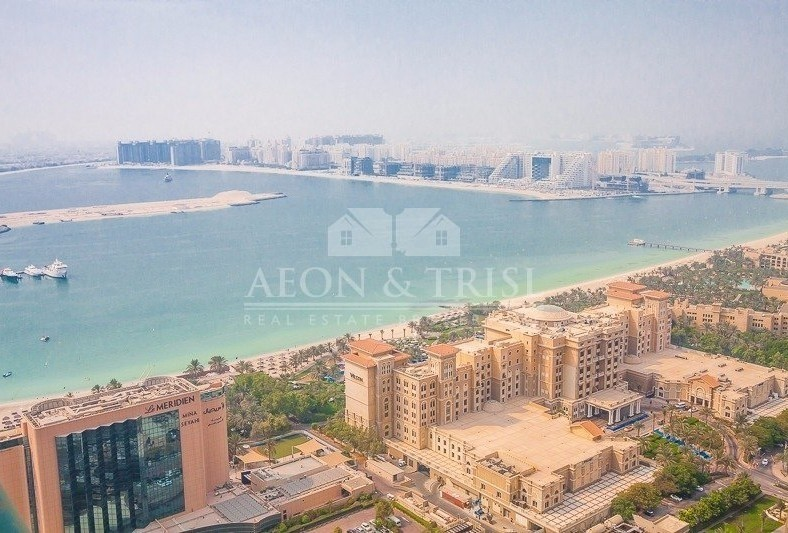 Marina Crown 2 Bed+Maids sea view 1.65 M