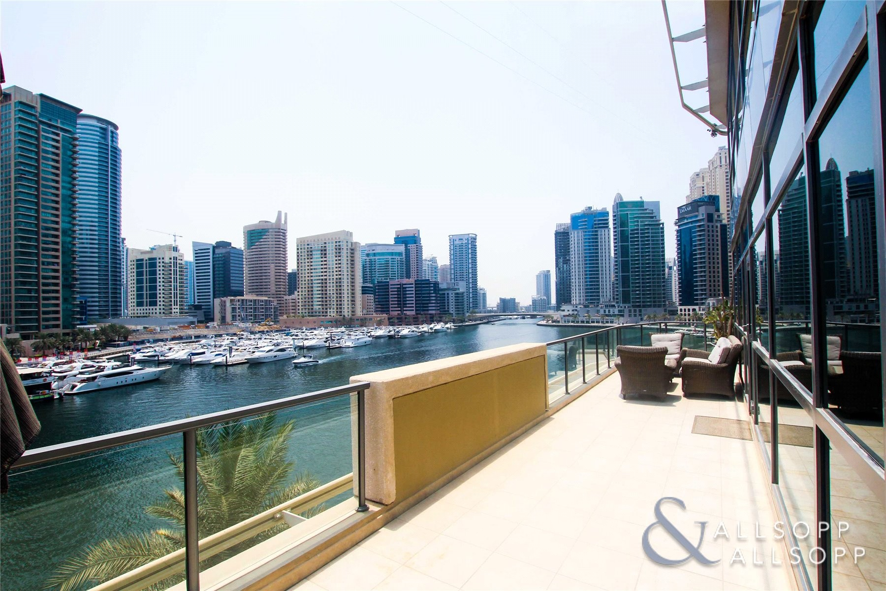 3 Beds | Large Balcony | Full Marina View
