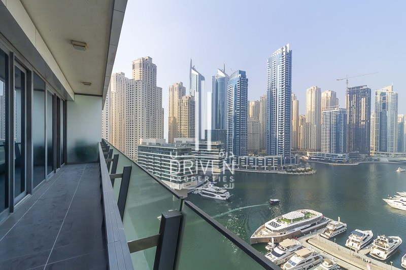 Amazing 2 Bedroom Apt | Stunning Marina View