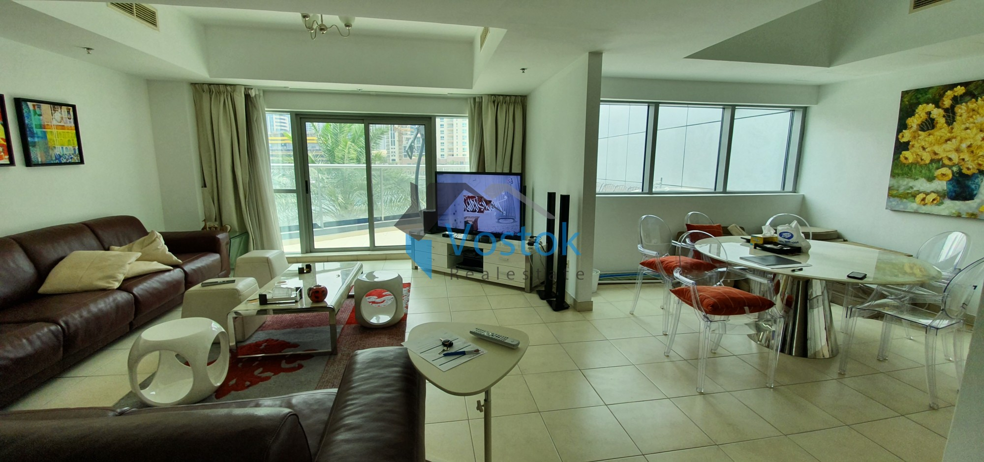 3 + Maid Duplex Apartment for Sale in The Point Tower, G Floor