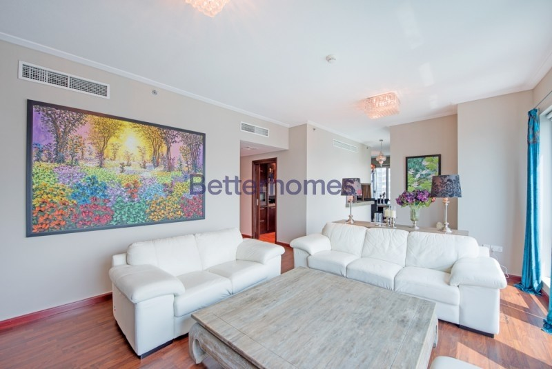 3 BED + MAIDS |FURNISHED |  MARINA VIEWS