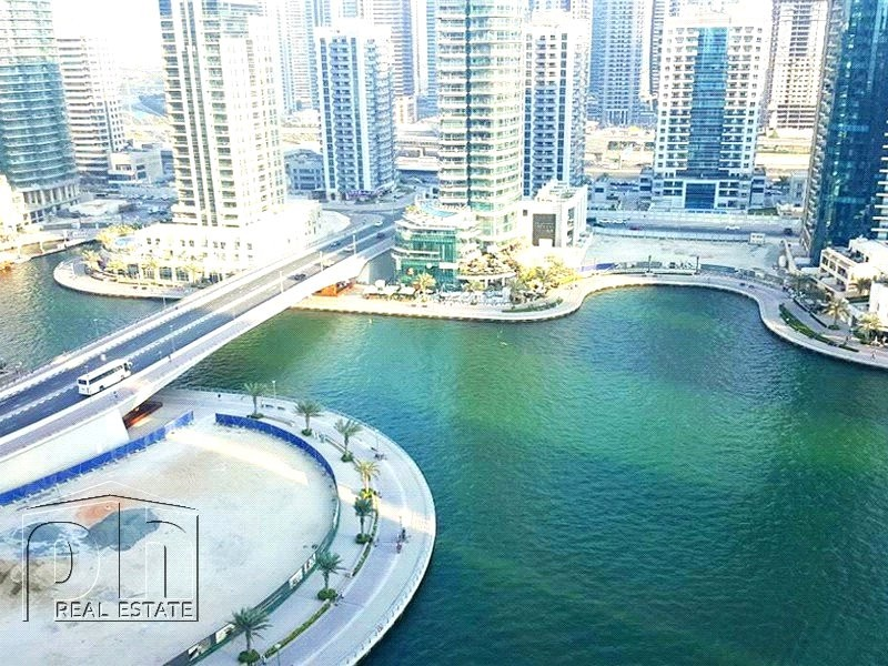 Full Marina View, Chiller Free, 2BR Unfurnished