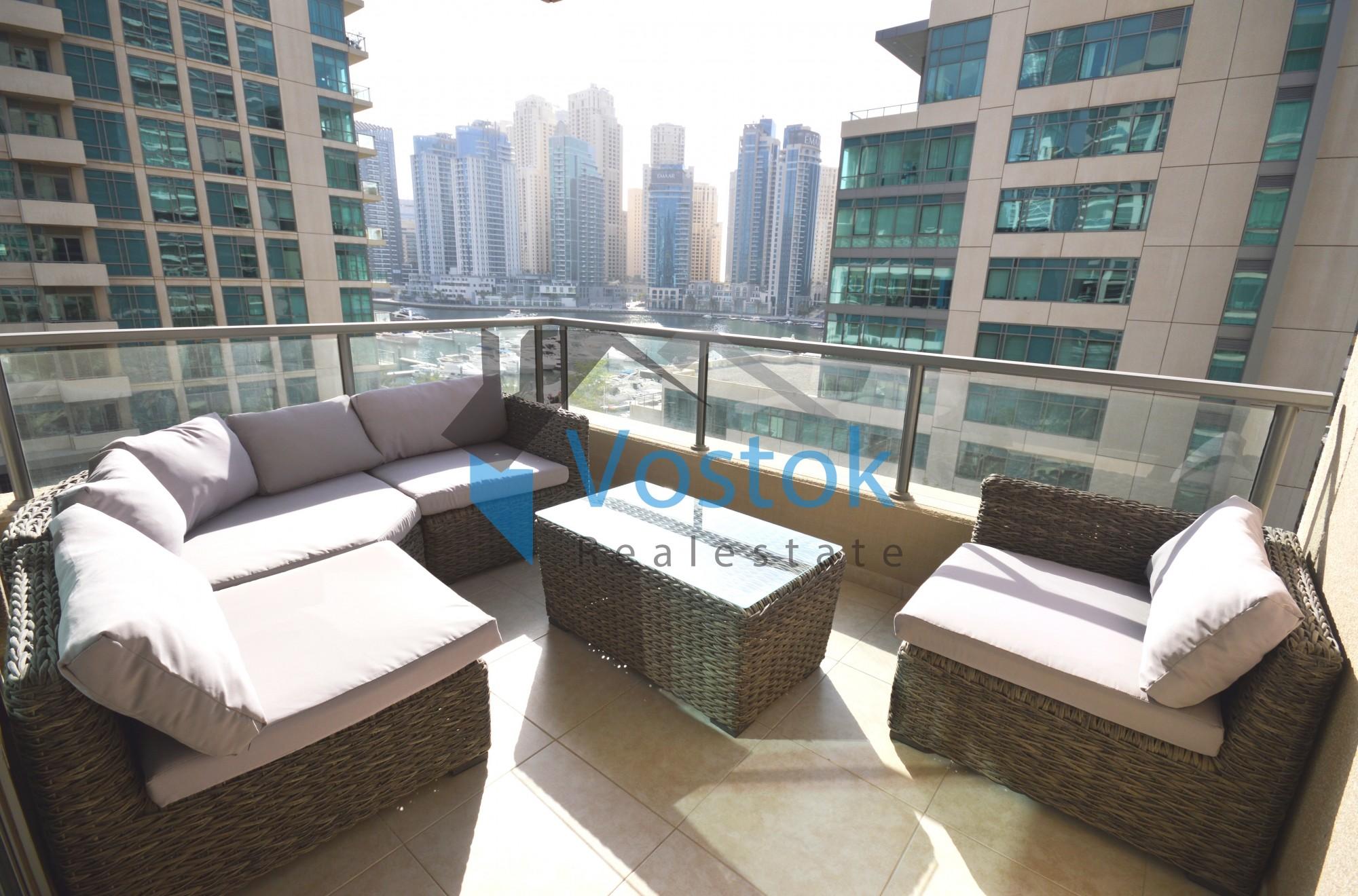 Unique 2 Bedroom Canal View in Al Majara-3