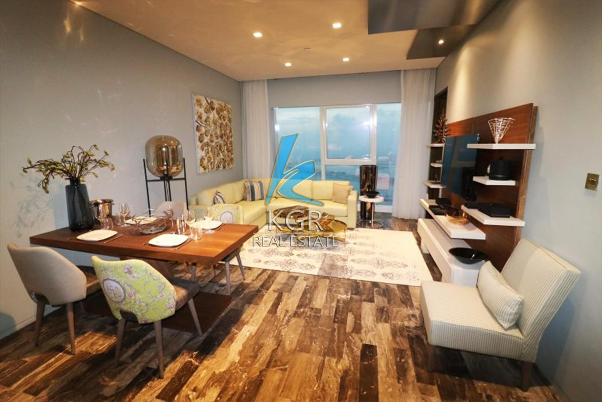 Luxurious 1Bed Furnished Fendi, High Floor, Rented.