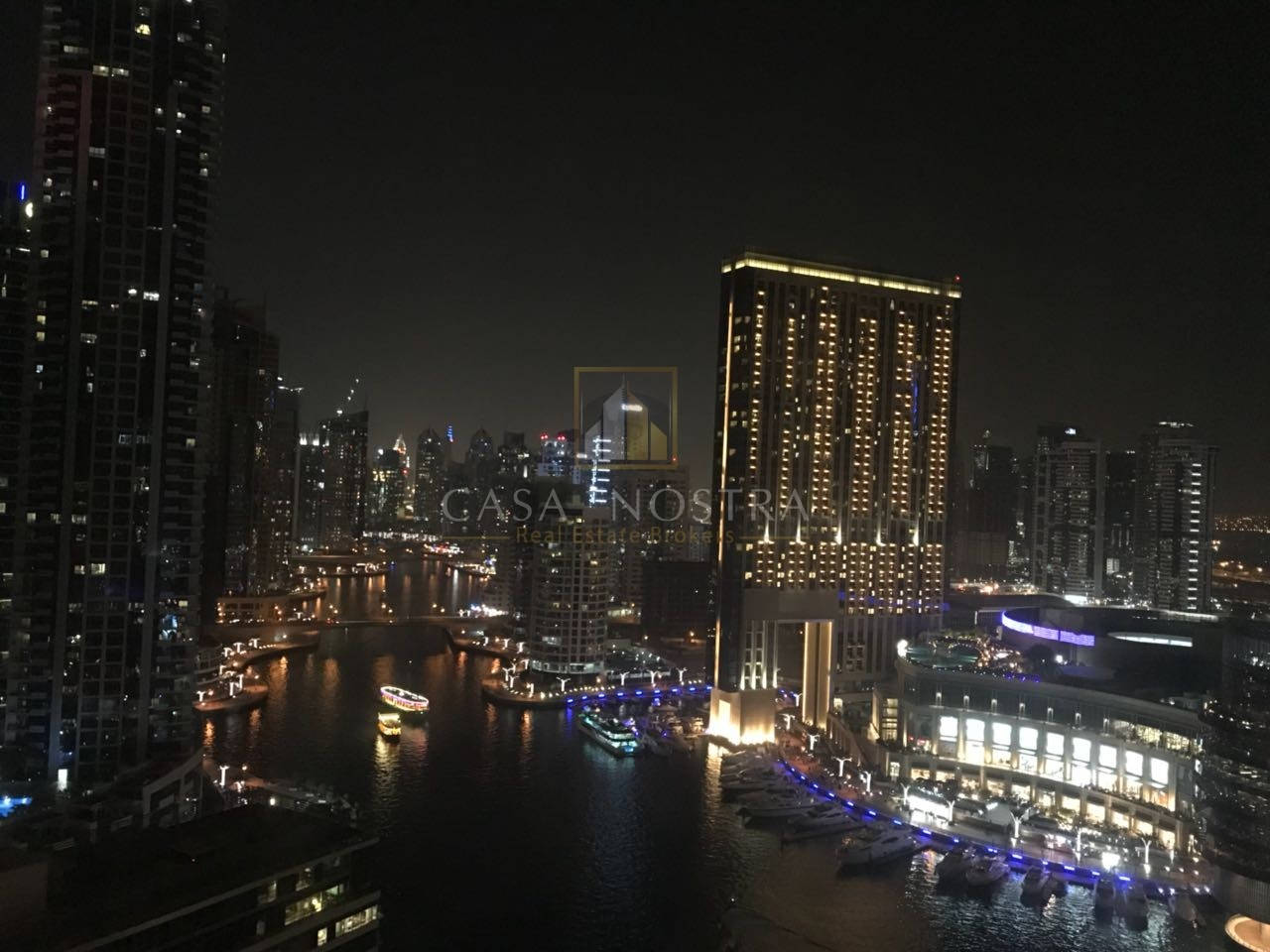 Full Marina View Furnished 2BR  with Balcony