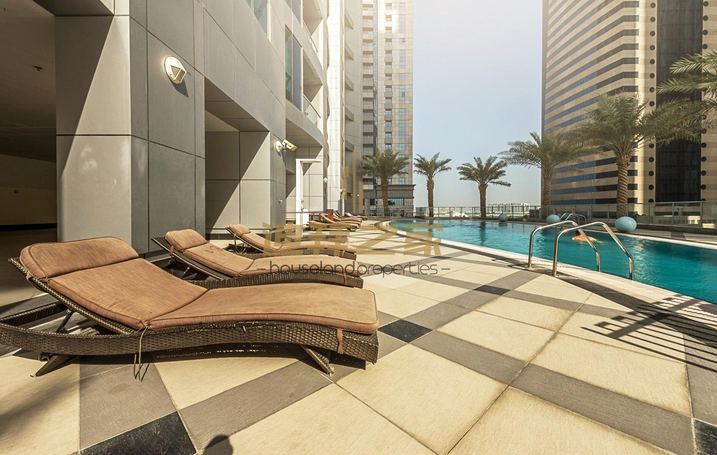 Huge Spacious Unfurnished 1BHK in Dubai Torch Tower
