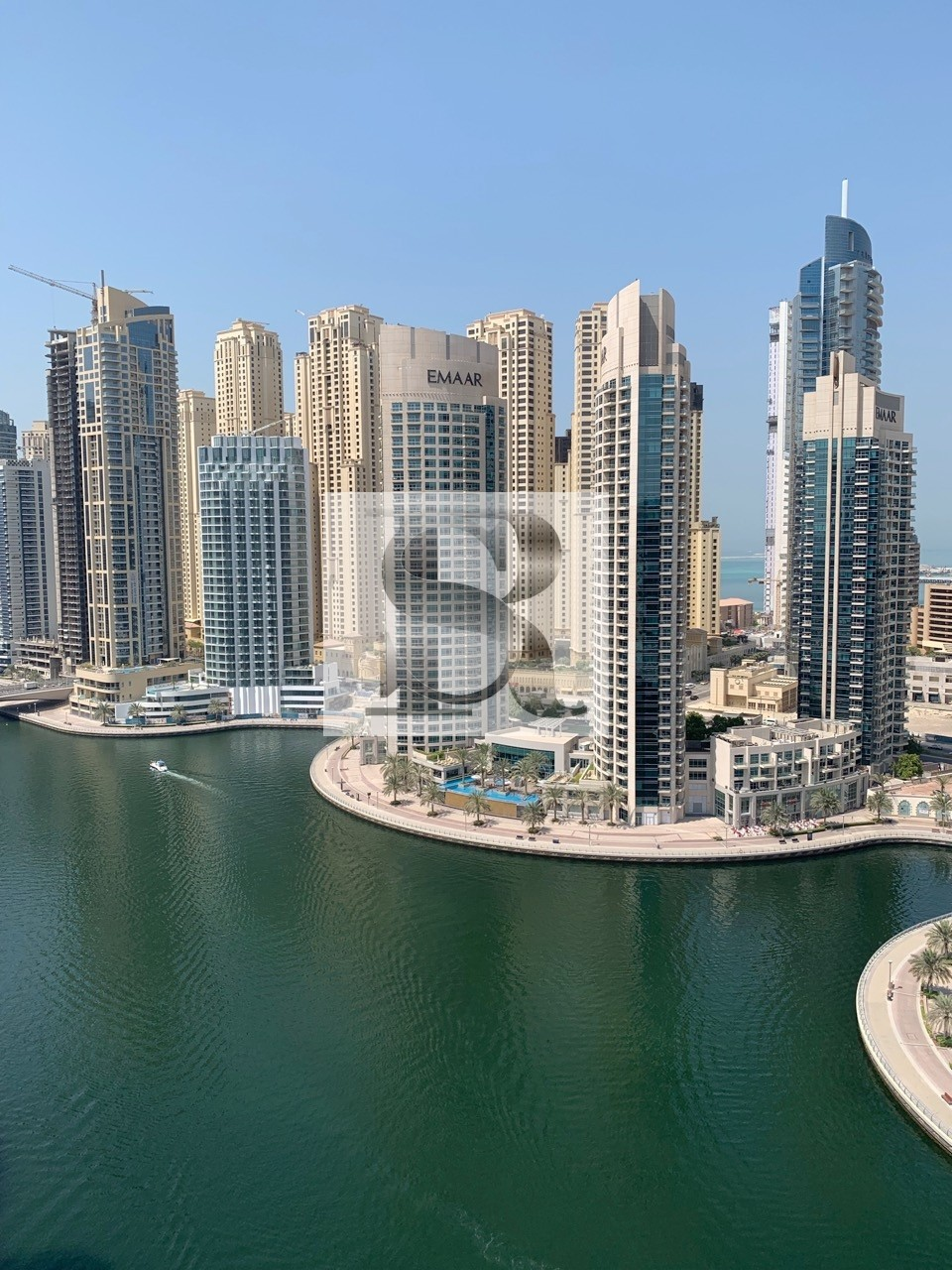 Amazing  3 BR + M | High Floor  | Full Marina View